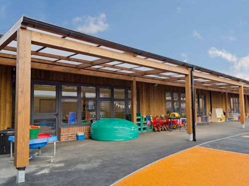 Free Standing Mono & Tarnhow Sustainable Timber Canopies - Schools Architects ...