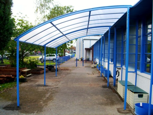 Free Standing & Case Studies - Schools Architects u0026 Construction | Able Canopies Ltd.