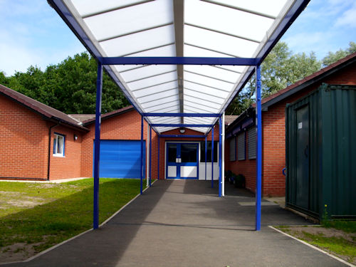 Canopies For Schools Architects Amp Construction Able